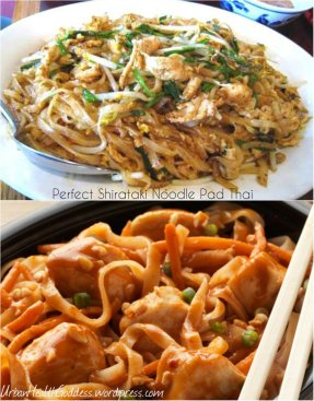 My Almost Perfect Shirataki Noodle Pad Thai is a tasty way to get to (and maintain) your ideal weight!