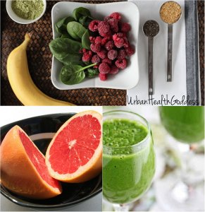 This is my fav fall green smoothie for weight loss!
