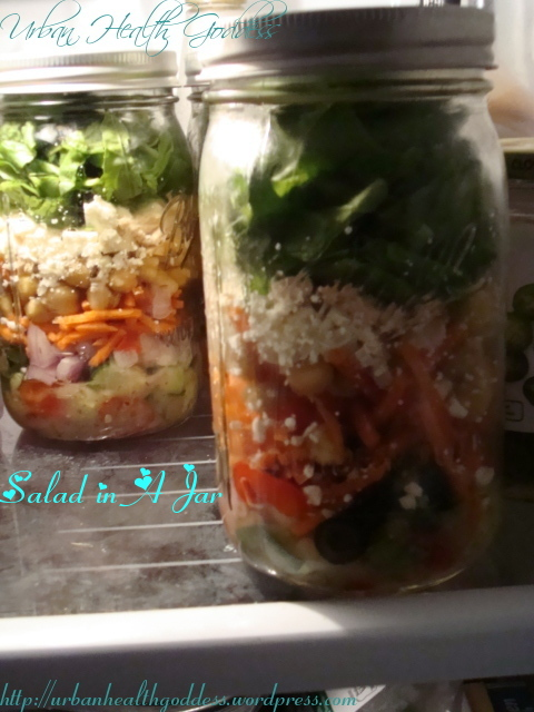 salad in a jar  1